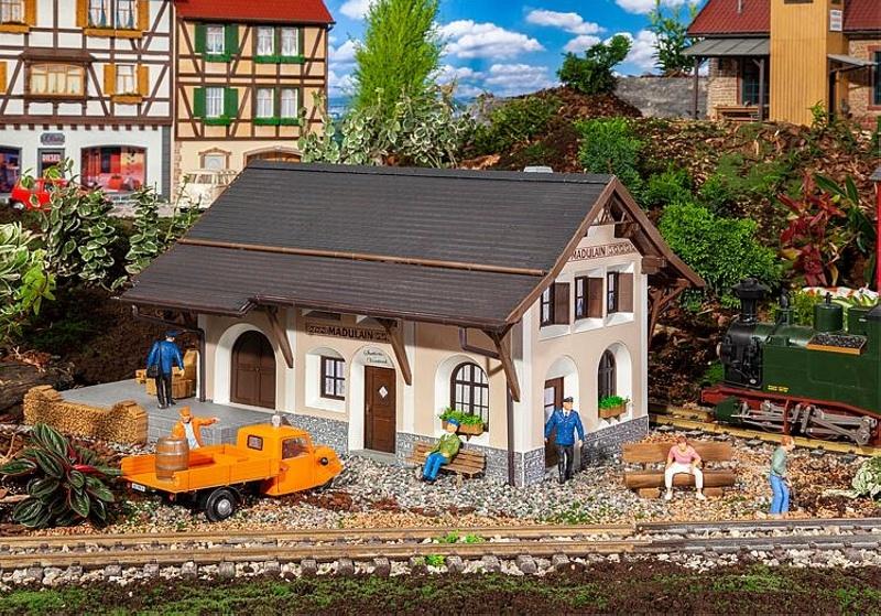 Bahnhof Madulain Bausatz, Spur G