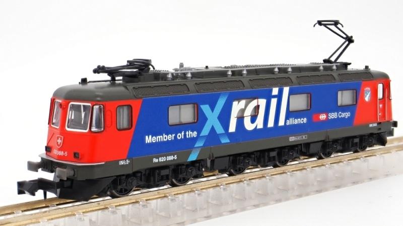 E-Lok Re 620 SBB Cargo / Xrail, Ep.V-VI, mit Klimaanlage, N
