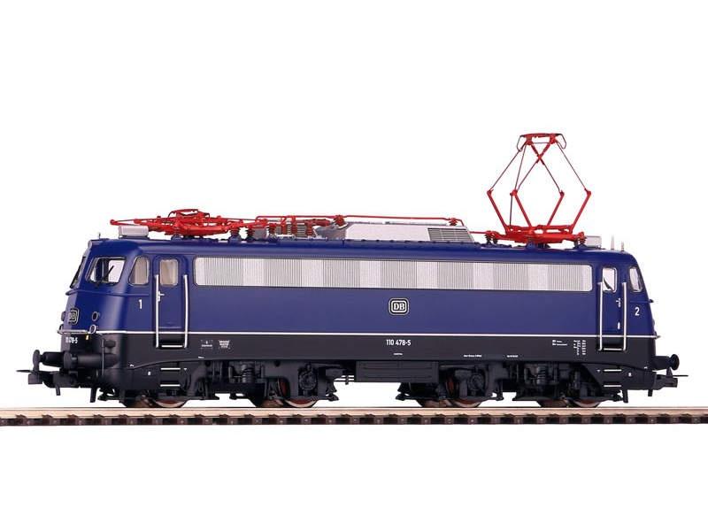 E-Lok BR 110.3 der DB, tiefes Logo, Epoche IV, Spur H0