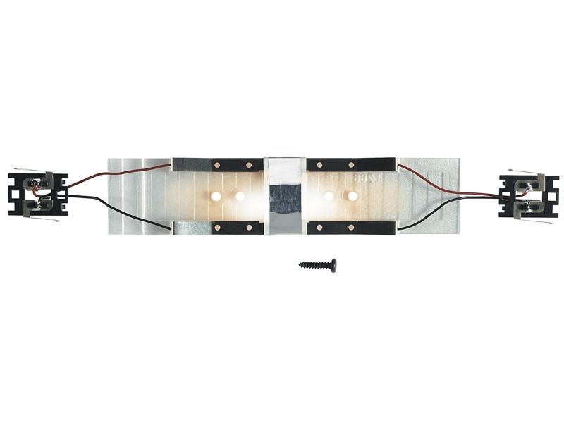 Innenbeleuchtung für Personenwagen mit LüP von ca. 130 mm H0
