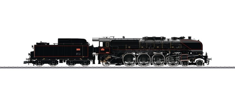 Dampflokomotive Serie 241-A der SNCF, DCC, mfx, Spur 1