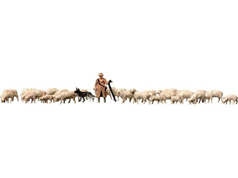 Schäfer + Schafe Figuren Z