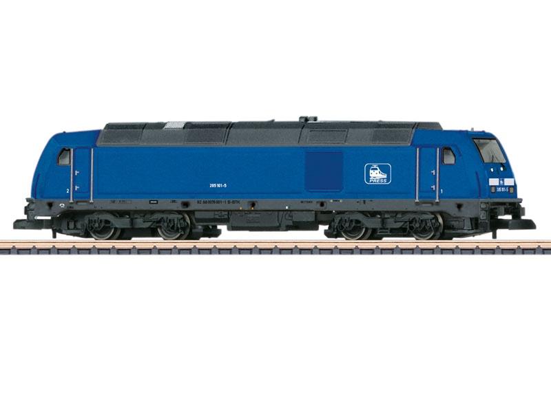Diesellokomotive Baureihe 285 der Press, Spur Z