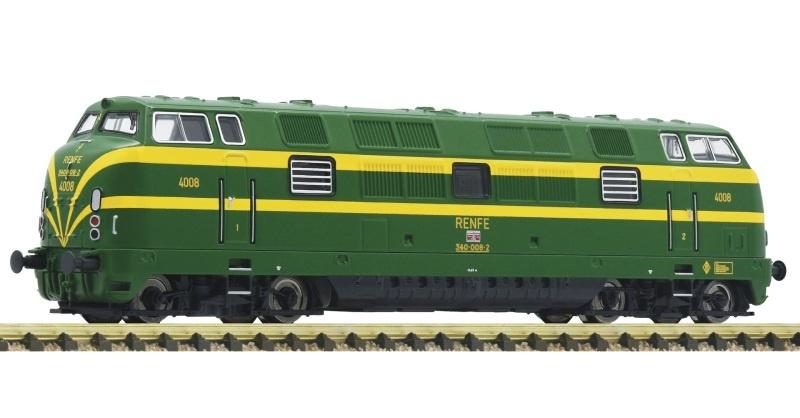 Diesellokomotive Serie 340, RENFE, DC, Spur N