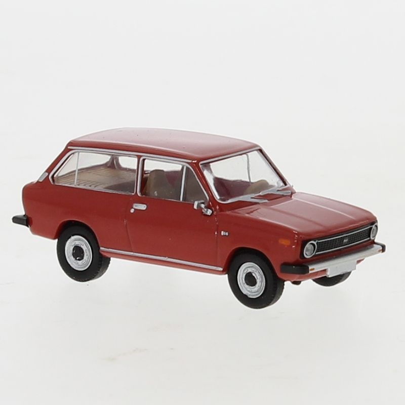 DAF 66, rot, 1972, 1:87 / H0