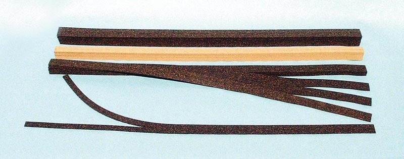 Gleisbettungen Superflex 9,80 m, Spur N