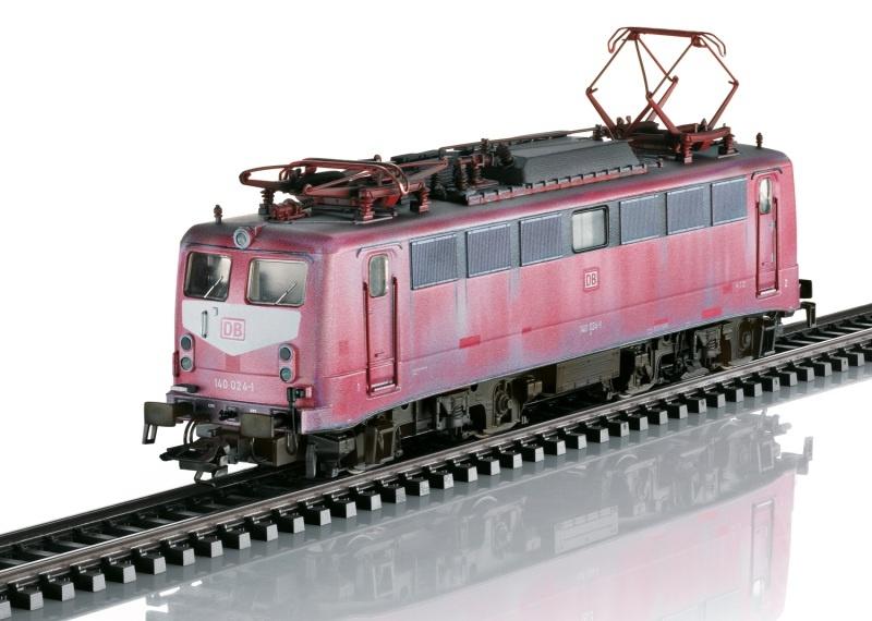 Elektrolokomotive BR 140 der DB AG, DC, DCC, Spur H0