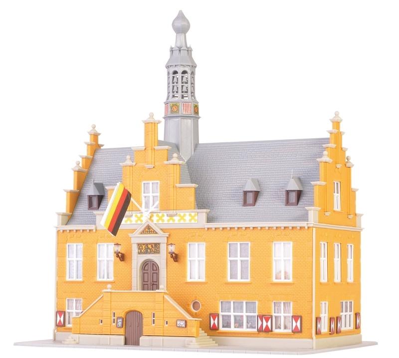 Rathaus in Purmerend Bausatz, Spur N