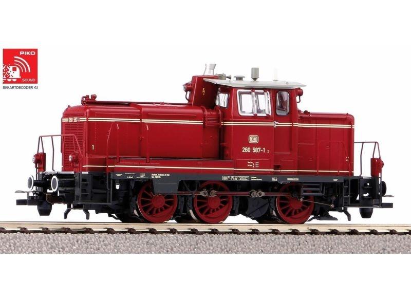 Sound-Diesellok BR 260, inkl. PIKO Sound-Decoder, DC, H0