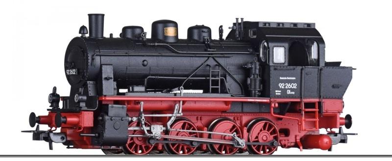 Dampflokomotive BR 92 2602 der DRG, Ep. II, DC, Spur H0