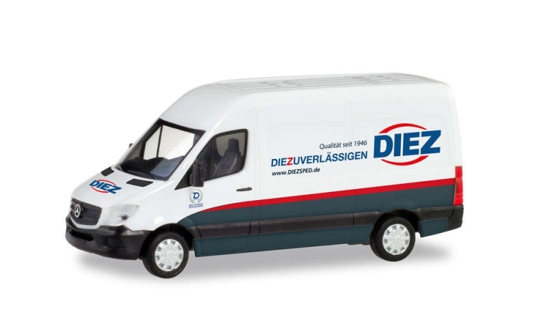Mercedes-Benz Sprinter Kasten Spedition Diez 1:87 / H0