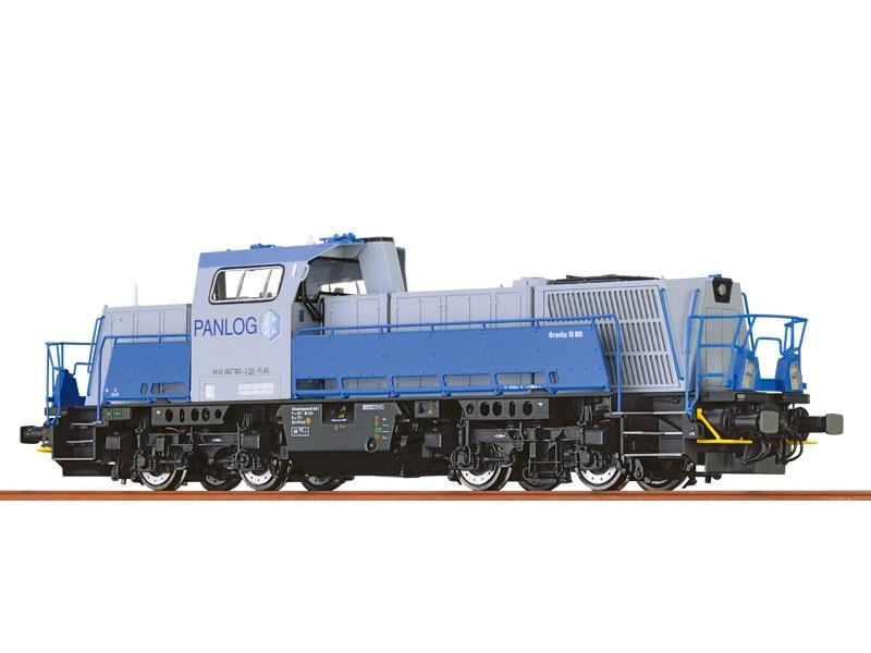 Diesellok Gravita 10BB der Panlog, VI, DC, Analog Basic+, H0