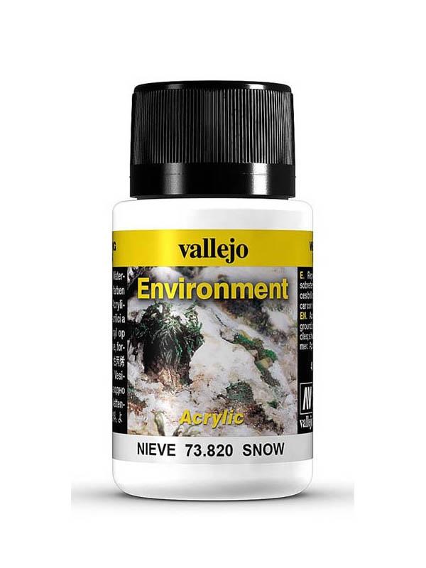 Effektfarbe Schneespuren, 40 ml