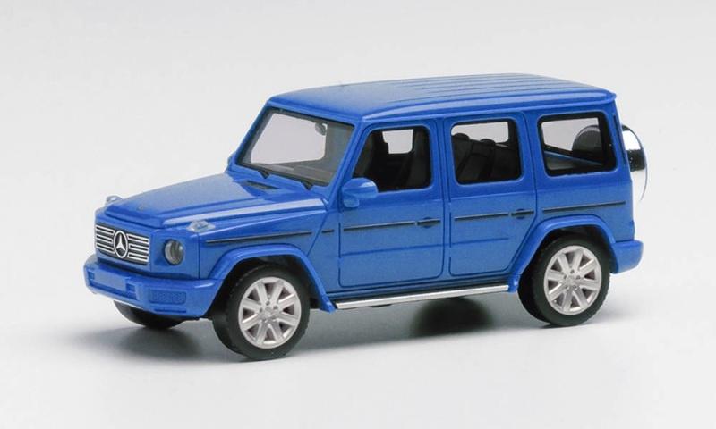 Mercedes-Benz G-Klasse, Südseeblau metallic, 1:87 / Spur H0