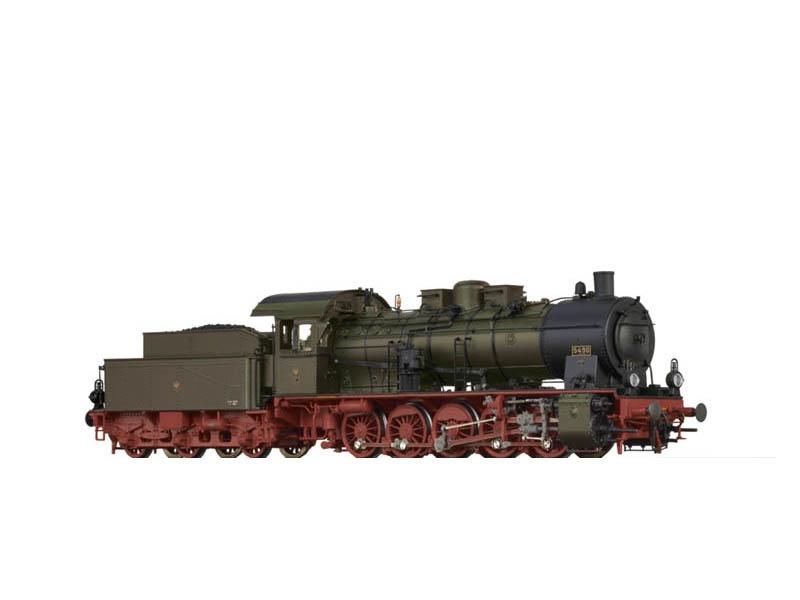 Dampflok BR 57.10 der KPEV, I, DC, BASIC+, Spur H0