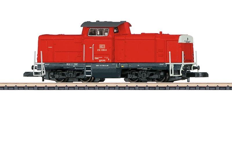 Diesellokomotive BR 212 der DB, Epoche VI, Spur Z