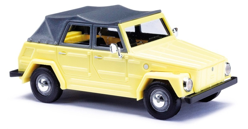VW 181 Kurierwagen, Gelb, Spur H0