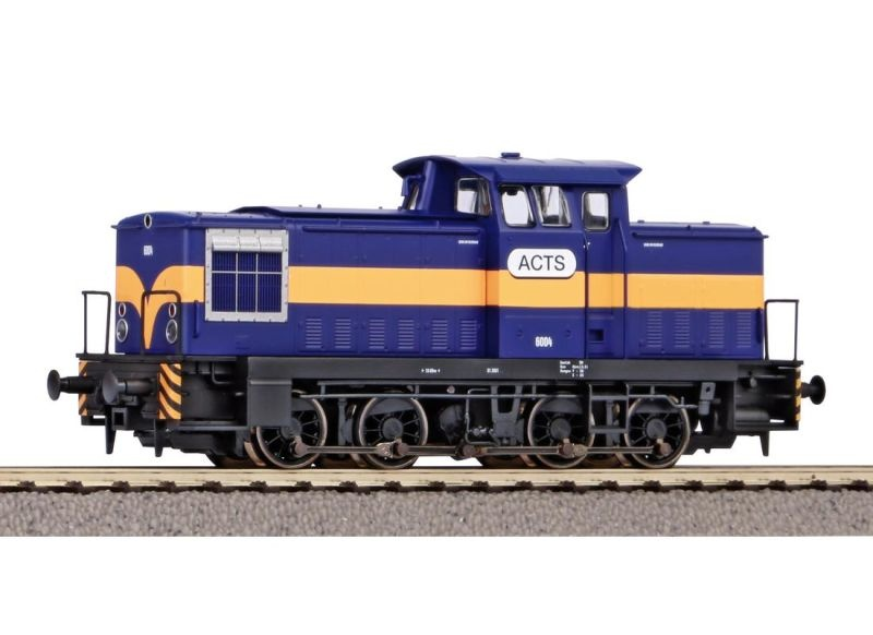 Diesellok 6004 der ACTS, Ep. VI, DC, Spur H0