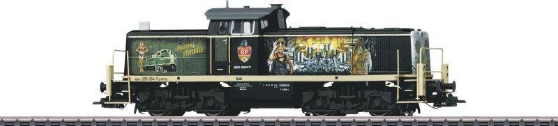 Schwere Diesel-Rangierlok BR 291, RP, Amazing Amelie, H0
