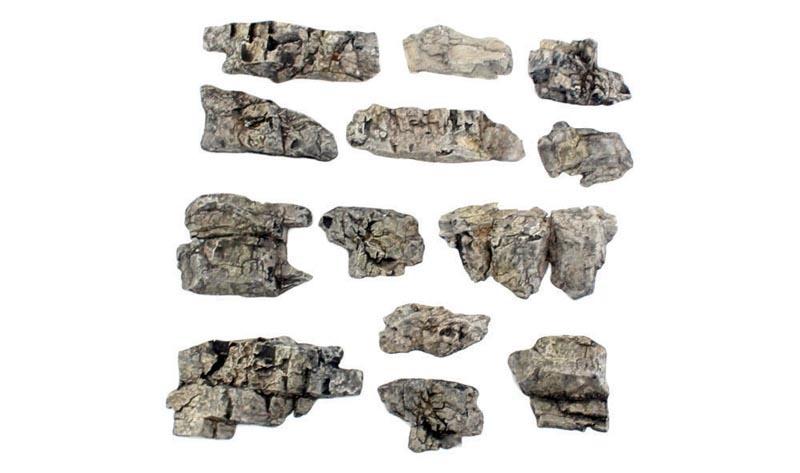 Fertige Felsen - Felsvorsprünge