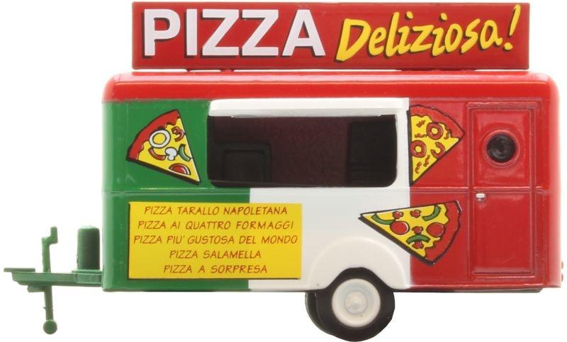 Anhängermodell Pizza, Spur H0, 1:87