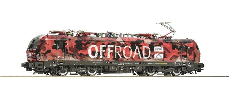 E-Lok 193 555 der TX-Logistik, Offroad, DC, Spur H0