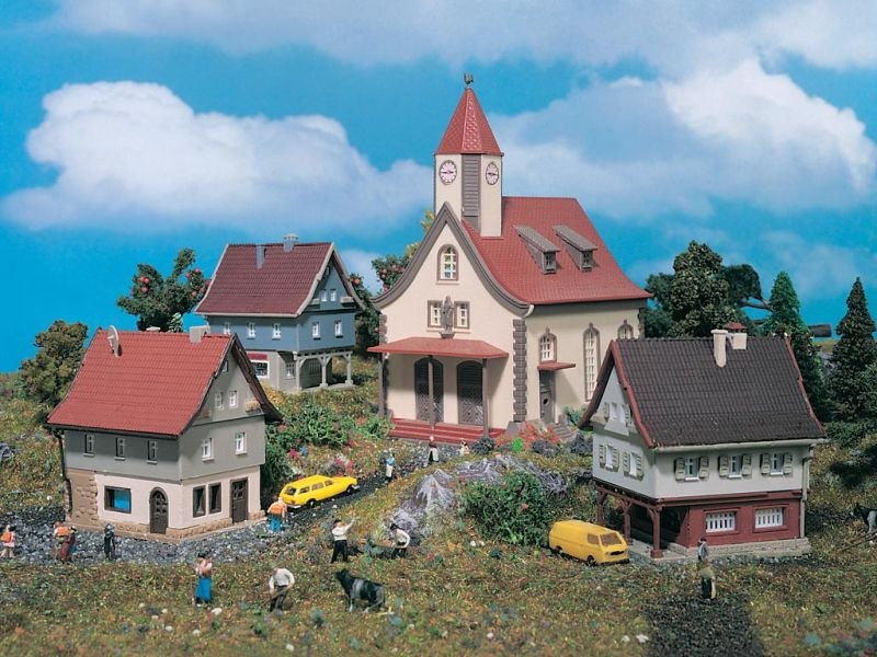 Set Dorf, Bausatz,  Spur Z