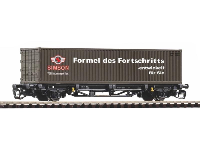Containertragwagen Lgs579 DR IV 1x40 Simson, DC, Spur TT