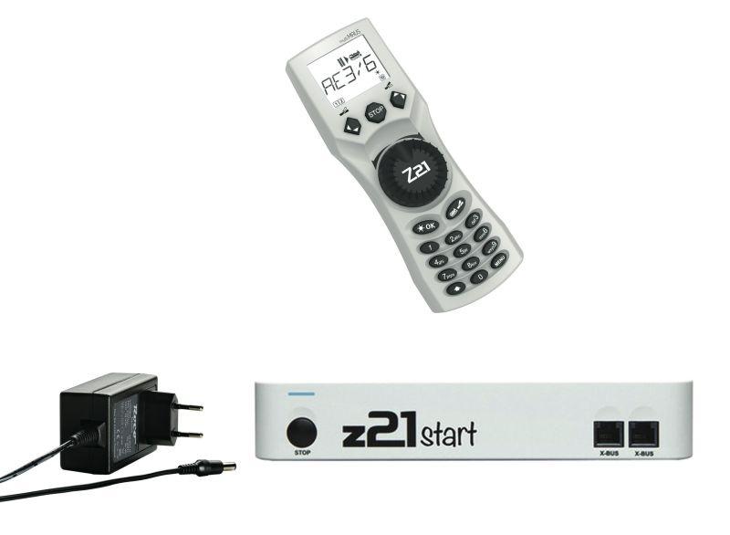 z21 start Basis Digitalset, Spur H0