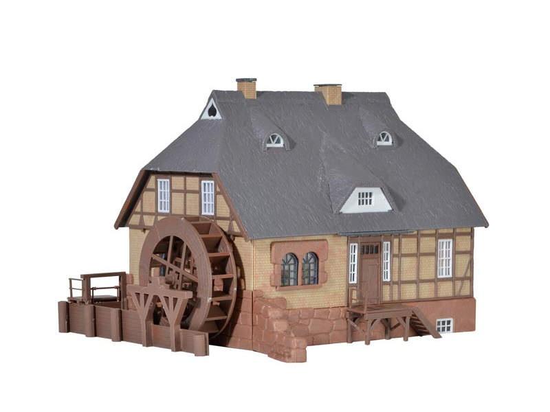 Moisburger Wassermühle, Bausatz, Spur H0