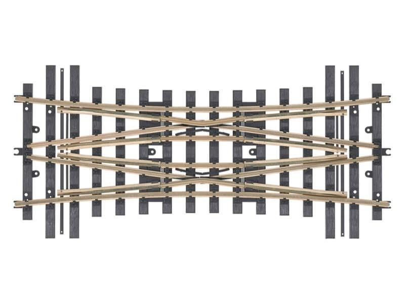DKW Mittelteil R15° Radius 1394mm (H1101) Spur 1