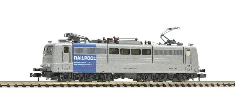 Sound-E-Lok 151 062-7 der Railpool, Epoche VI, Spur N