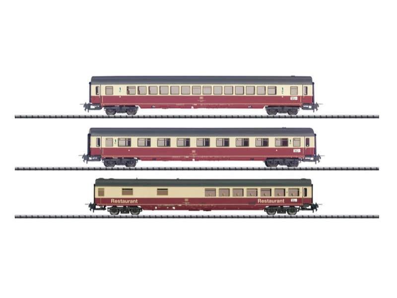 Schnellzugwagen-Set IC 690 Hohenstaufen DB Express H0