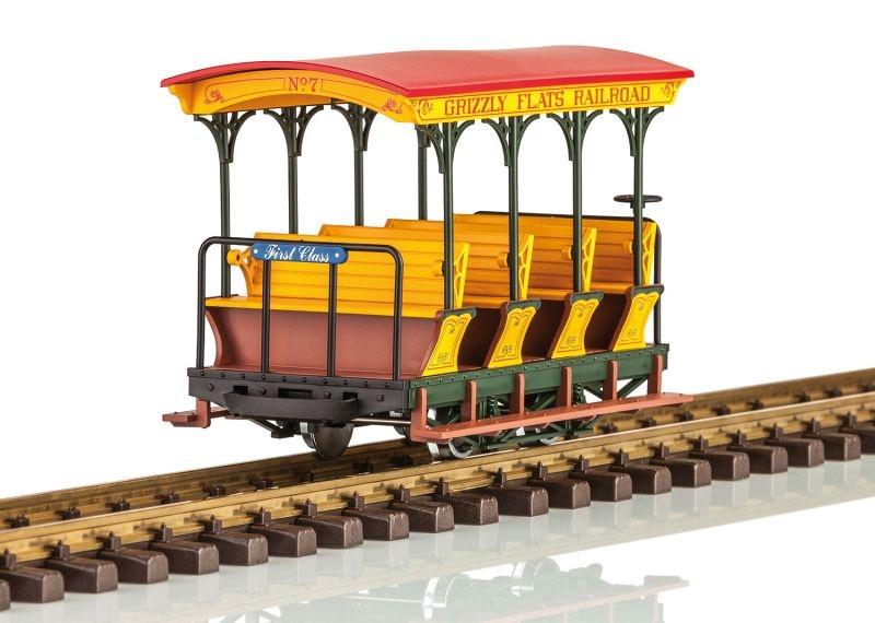Grizzly Flats Personenwagen 1. Klasse, Spur G