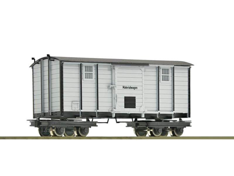 Waldbahn-Materialwagen, Spur H0e