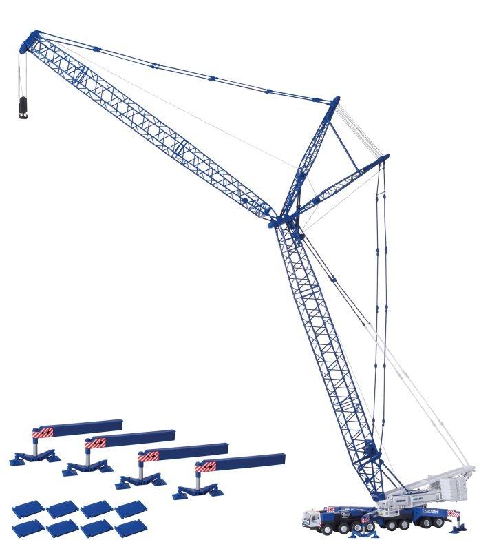 LIEBHERR LG 1550 BREUER & WASEL, Bausatz, Spur H0