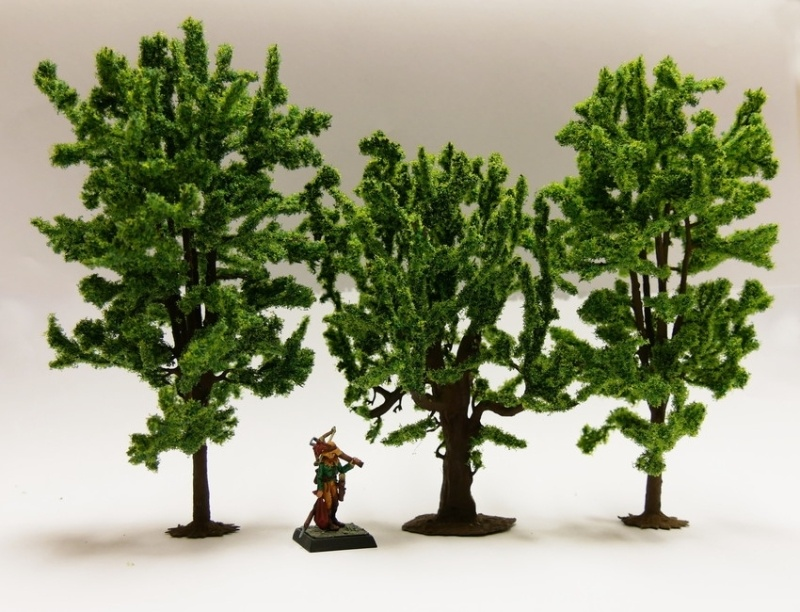 Fabelwald Modell-Laubbäume-Mix
