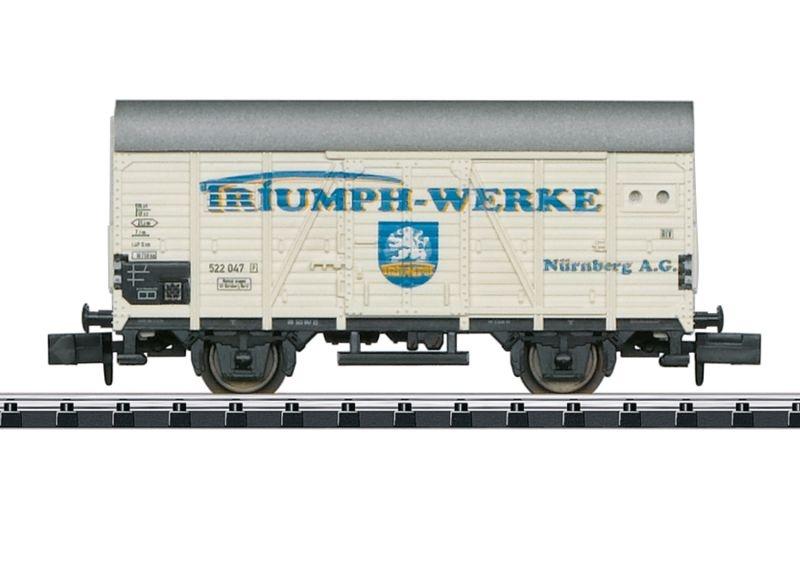 Gedeckter Güterwagen Gr 20 der DB, Minitrix Spur N
