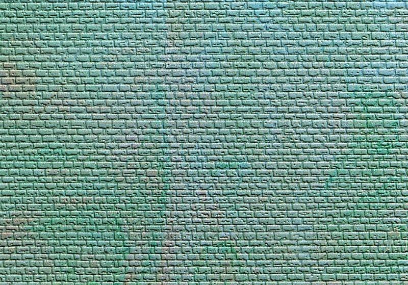 Mauerplatte regelmäßig, mit Abdecksteinen, L10xB15 cm, N/Z