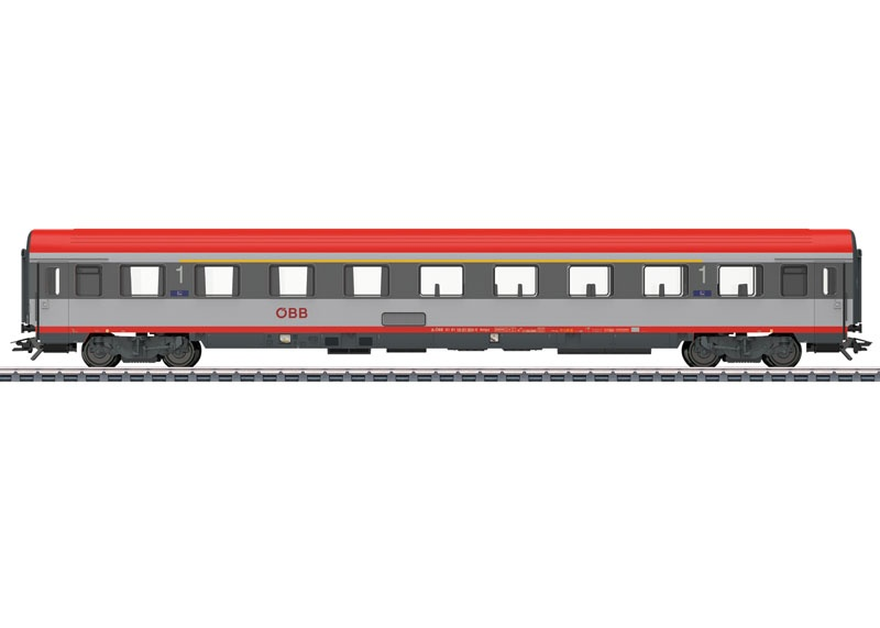 Reisezugwagen Ampz 1. Klasse der ÖBB, Spur H0