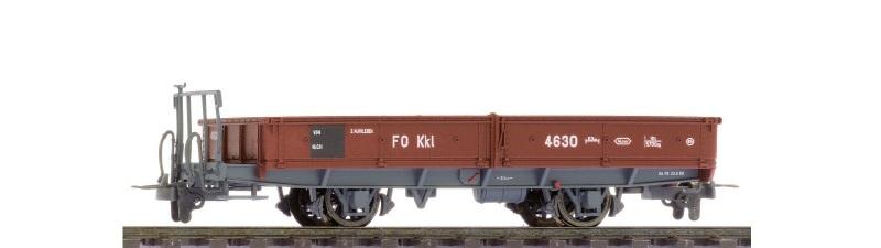 FO Kkl 4627 Niederbordwagen, Spur H0m