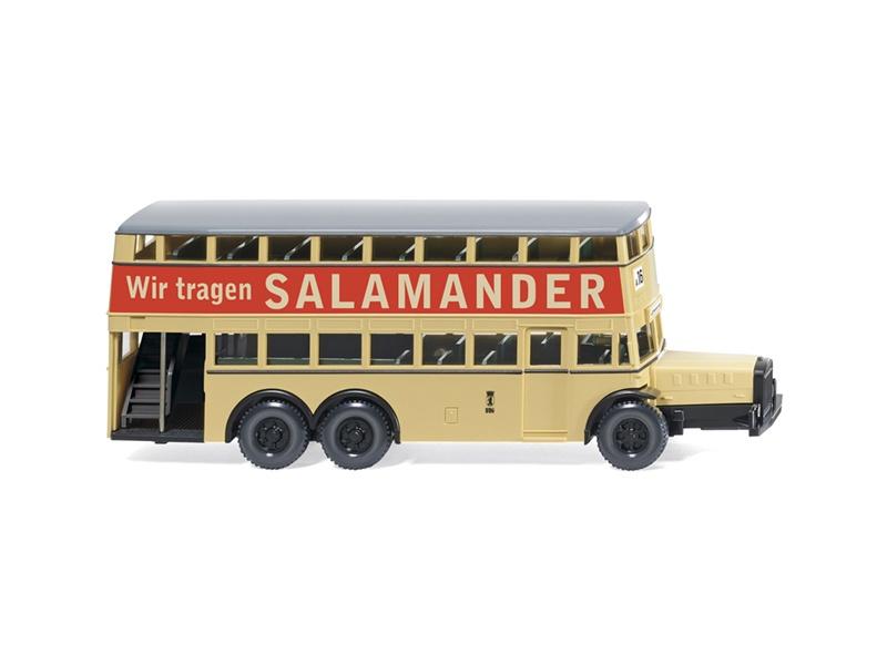 Berliner Doppeldeckerbus D 38 Salamander 1:87 / H0