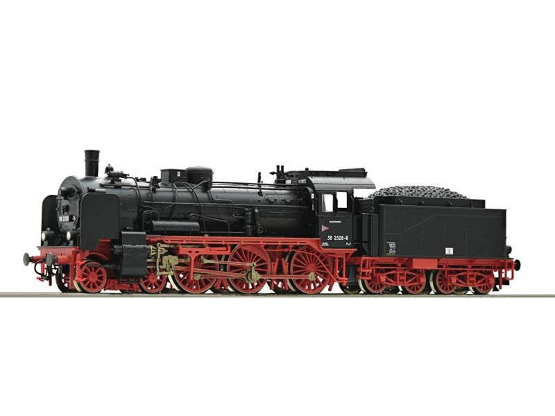Dampflokomotive 38 2528 DR Sound TT