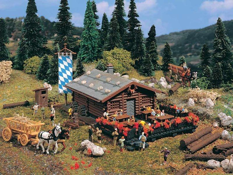 Kaiser-Franz-Josefs-Hütte, Bausatz, Spur N