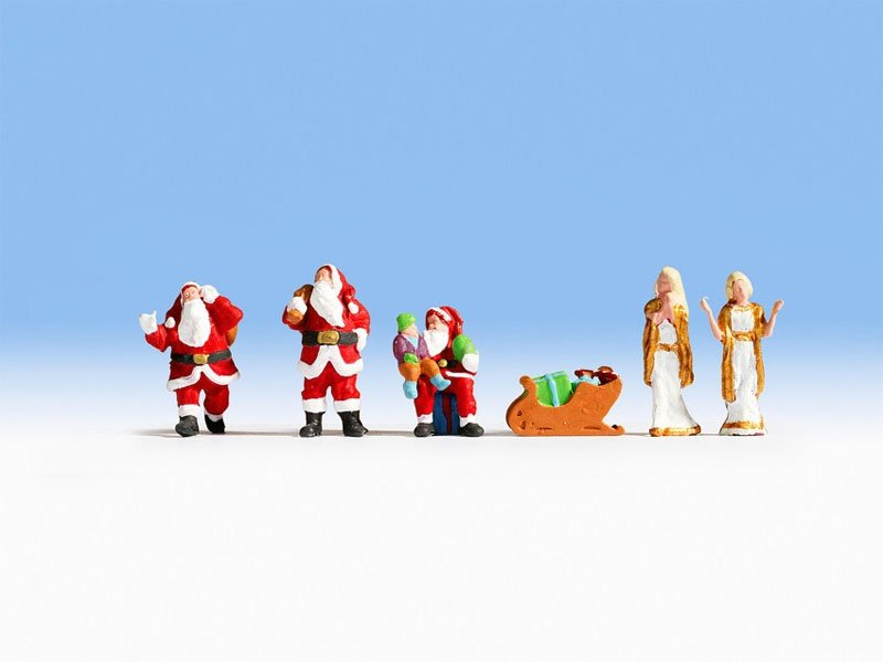 Weihnachten Sound-Szene Spur H0