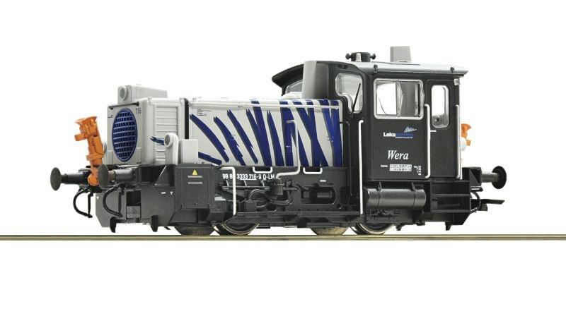 Diesellokomotive 333 716 der Lokomotion, Sound, DC, Spur H0