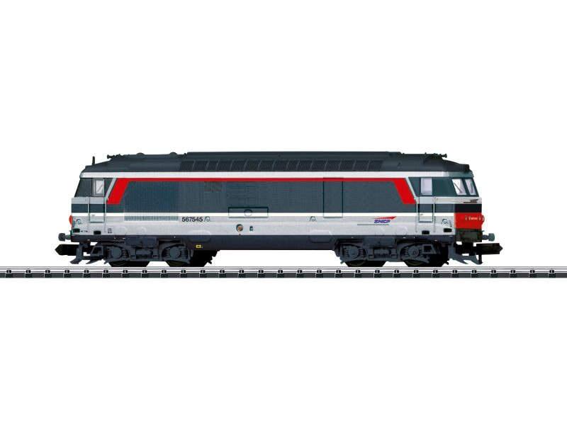 Diesellok BB 67400 der SNCF, Multiservice, Minitrix Spur N