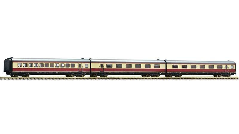 3-tlg. Set: Ergänzungswagen Alpen-See-Express, DB, Spur N