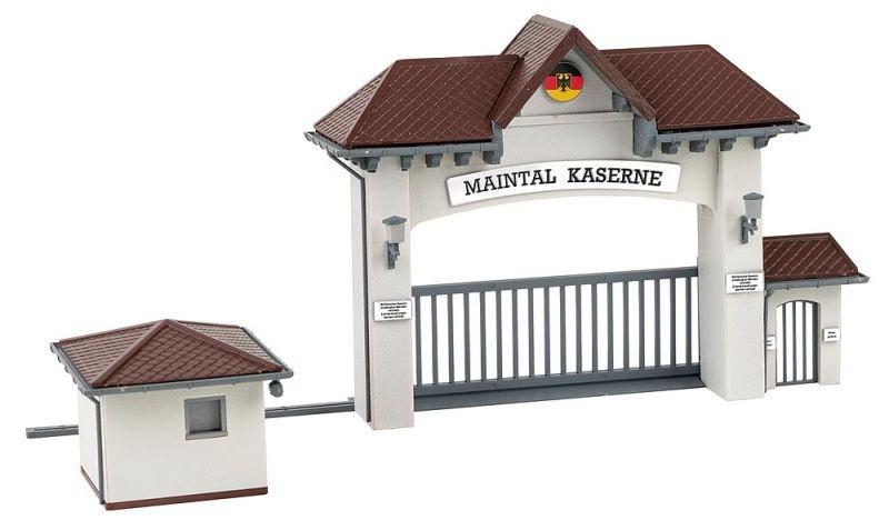 Kasernen-Haupteingang Bausatz, Spur H0