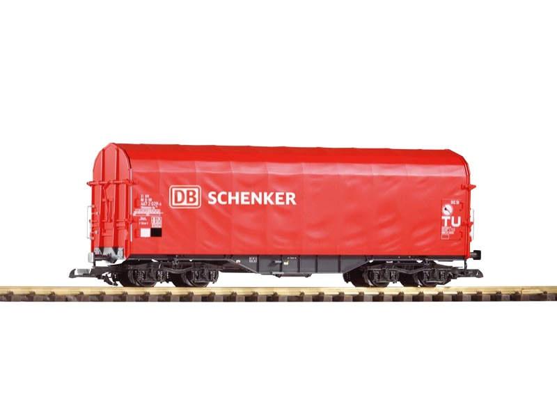 Schiebeplanenwagen Shimmns-tu 718 DB Schenker,Ep. VI, Spur G